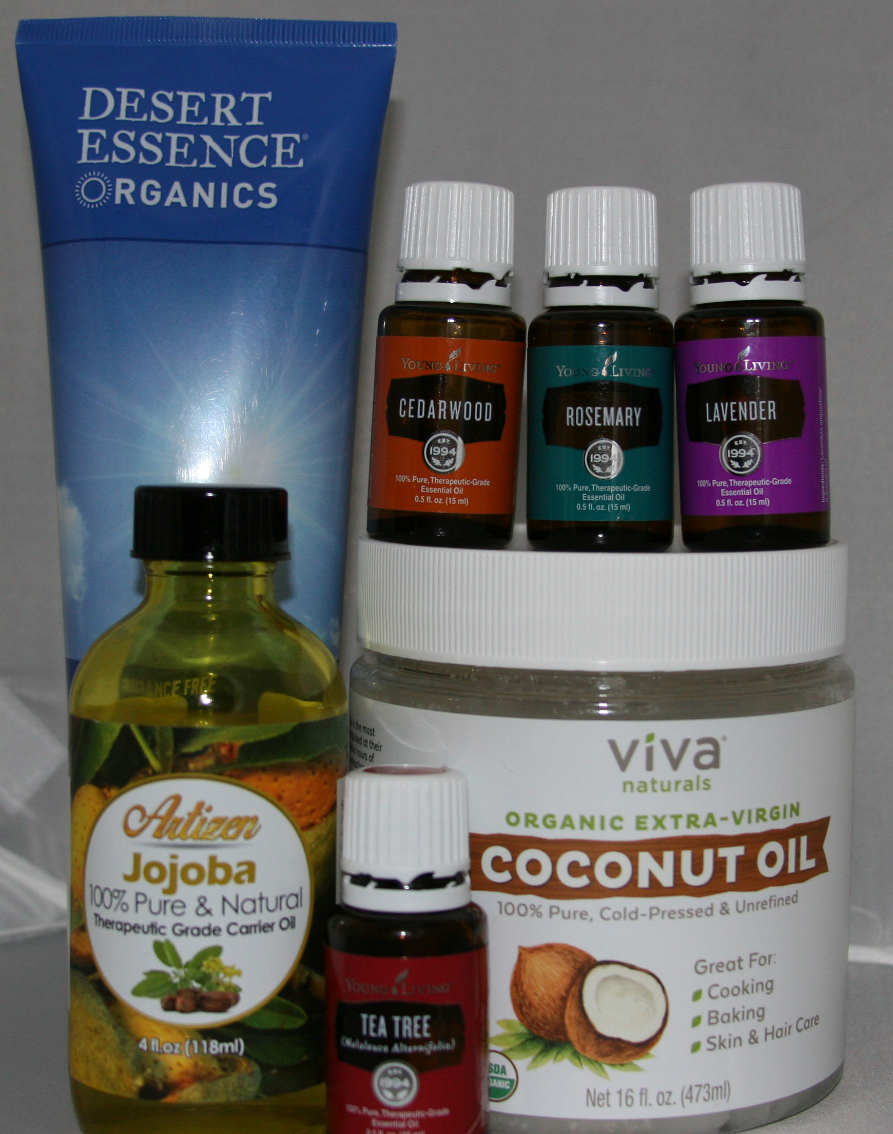 DIY Shampoo with Essential Oils (Without Castile Soap)